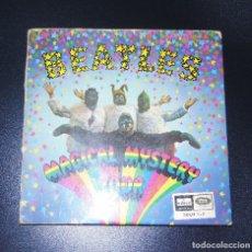 Discos de vinilo: THE BEATLES ----MAGICAL MYSTERY TOUR --ORIGINAL SOLM 1-2- LABEL AZUL FUERTE ( CON LIBRO ). Lote 132524458
