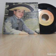 Discos de vinilo: PEDRITO FERNANDEZ - LA DE LA MOCHILA AZUL . Lote 148191106