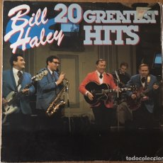 Discos de vinilo: BILL HALEY 20 GREATEST HITS LP DISCO EXCELENTE. Lote 148192442