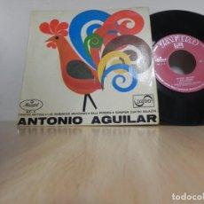 Discos de vinilo: SINGLE VINILO ANTONIO AGUILAR CANCION MIXTECA BALA PERDIDA SONARON CUATRO BALAZOS EP LAS MAÑANITAS . Lote 148193370