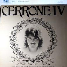 Discos de vinilo: CERRONE  V - THE GOLDEN TOUCH. Lote 148196480