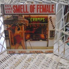 Discos de vinilo: THE CRAMPS ‎– SMELL OF FEMALE.LP ED. 2014 UK.SELLO BIG BEAT. PSYCHOBILLY, PUNK . Lote 148200998