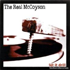 Discos de vinilo: THE REAL MCCOYSON – LET IT DRILL LP GARAGE ROCK, ROCK & ROLL. Lote 148201422