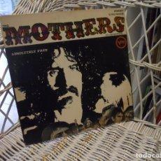 Discos de vinilo: THE MOTHERS OF INVENTION – ABSOLUTELY FREE.LP ORIGINAL USA 1967.CARPETA ABIERTA.SELLO VERVE. Lote 148202690