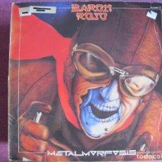 Discos de vinilo: LP - BARON ROJO - METALMORFOSIS (SPAIN, CHAPA DISCOS 1983) CONTIENE ENCARTE. Lote 148203186