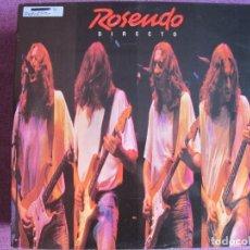 Discos de vinilo: LP - ROSENDO - DIRECTO (DOBLE DISCO, SPAIN, TWINS RECORDS 1989). Lote 148203662