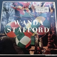 Discos de vinilo: WANDA STAFFORD: I FEEL PRETTY + LET THE BE LOVE + COME BY SUN DAY + LOVE. Lote 148203882