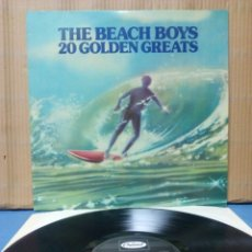 Discos de vinilo: THE BEACH BOYS - 20 GOLDEN GREATS 1976 UK. Lote 148204230