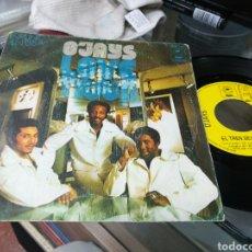 Discos de vinilo: O'JAYS SINGLE EL TREN DEL AMOR LOVE TRAIN 1973 ESCUCHADO RAREZA. Lote 148208306