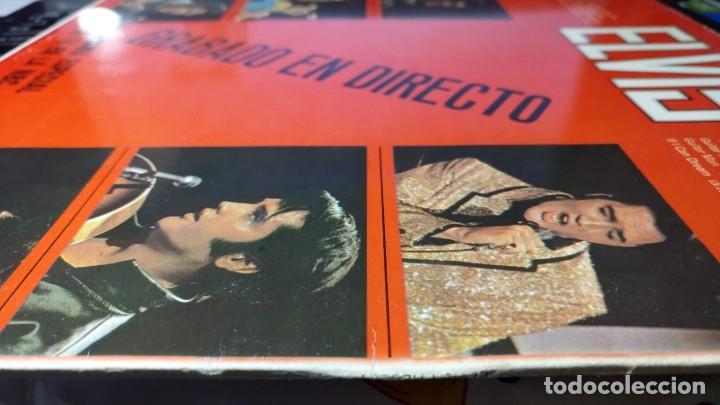 Discos de vinilo: ELVIS PRESLEY GRABADO EN DIRECTO PROGRAMA ESPECIAL TV NBC - LP - ESPAÑA 1987 - LINEATRES - Foto 6 - 148162022