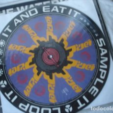 Discos de vinilo: POP WILL EAT ITSELF CURE FOR SANITY (PICTURE DISC). Lote 148213150