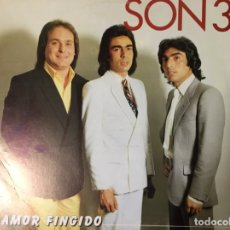 Discos de vinilo: SON 3. AMOR FINGIDO. (VINILO LP 1983). Lote 148216454