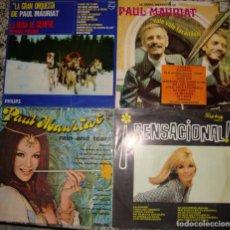 Discos de vinilo: PAUL MAURIAT. 4 LPS ORIGINALES.. Lote 148217518