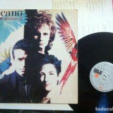 Discos de vinilo: MECANO - DESCANSO DOMINICAL - LP CON ENCARTE 1988 - ARIOLA. Lote 148217666