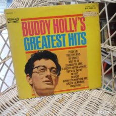 Discos de vinilo: BUDDY HOLLY – BUDDY HOLLY'S GREATEST HITS .LP ORIG USA 1967.SELLO CORAL. Lote 148217678