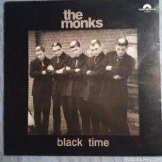 Discos de vinilo: THE MONKS - BLACK TIME. Lote 148220588