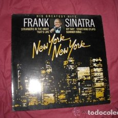 Dischi in vinile: FRANK SINATRA 'HIS GREAT HITS' (NEW YORK NEW YORK) LP. Lote 148222766