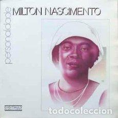 Discos de vinilo: MILTON NASCIMENTO - PERSONALIDADE (LP, COMP, RM) LABEL:PHILIPS CAT#: 833 695-1 . Lote 148223082
