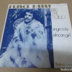 Discos de vinilo: PRINCE DANNY AND THE TURKES (SN) SINGIN' A LA AÑO 1971. Lote 148223290