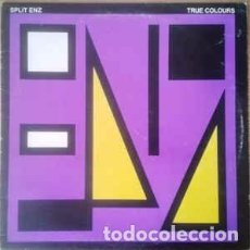 Discos de vinilo: SPLIT ENZ - TRUE COLOURS (LP, ALBUM, PUR) LABEL:A&M RECORDS CAT#: AMLH 64822 . Lote 148223394