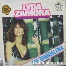 Discos de vinilo: LYDA ZAMORA - RIO MAGDALENA / GOOD TIMES - SINGLE CARNABY SPAIN 1979. Lote 148223746