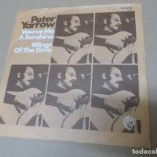 Discos de vinilo: PETER YARROW (SN) WEAVE ME THE SUNSHINE AÑO 1972 – EDICION ALEMANIA. Lote 148224154
