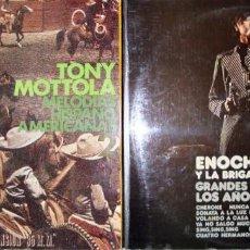 Discos de vinilo: ENOCH LIGHT. EXITOS DE LOS 30 Y 40 + TONY MOTTOLA: MELODIAS HISPANO AMERICANAS.. Lote 148224582