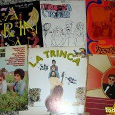 Discos de vinilo: LA TRINCA. LOTE DE 6 LPS ORIGINALES. Lote 148225650