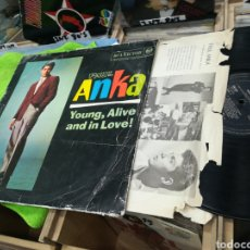 Discos de vinilo: PAUL ANKA LP YOUNG,ALIVE AND IN LOVE! ESPAÑA 1962 ESCUCHADO. Lote 148225941