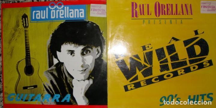 2 LPS. RAÚL ORELLANA. GUITARRA + RAÚL ORELLANA PRESENTA REAL WILD RECORDS (Música - Discos - LP Vinilo - Techno, Trance y House)