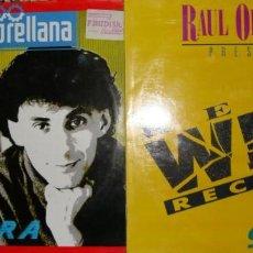 Discos de vinilo: 2 LPS. RAÚL ORELLANA. GUITARRA + RAÚL ORELLANA PRESENTA REAL WILD RECORDS. Lote 148227758