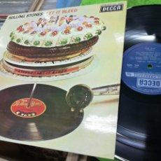 Discos de vinilo: ROLLING STONES LP LET IT BLEED ESPAÑA 1975. Lote 148227880