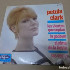 Discos de vinilo: PETULA CLARK (EP) THE SIGN OF THE TIMES AÑO 1966. Lote 148228074