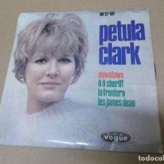 Discos de vinilo: PETULA CLARK (EP) DOWNTOWN AÑO 1964. Lote 148228174