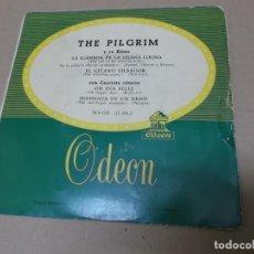 Discos de vinilo: THE PILGRIM (EP) THE CALL OF THE FARAWAY HILLS AÑO 1957 – BANDA SONORA RAICES PROFUNDAS. Lote 148228314