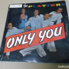 Discos de vinilo: THE PLATTERS (EP) ONLY YOU AÑO 1958. Lote 148228450