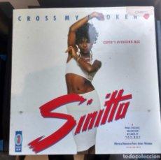 Discos de vinilo: SINITTA - CROSS MY BROKEN HEART. Lote 148230630