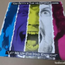 Discos de vinilo: TOM PETTY AND THE HEARTBREAKERS (LP) LET ME UP (I'VE HAD ENOUGH) AÑO 1987. Lote 148230770
