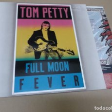 Discos de vinilo: TOM PETTY AND THE HEARTBREAKERS (LP) FULL MOON FEVER AÑO 1989 – ENCARTE CON LETRAS. Lote 148230934