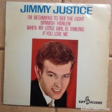 Discos de vinilo: JIMMY JUSTICE: I'M BEGINNING TO SEE THE LIGHT, SPANISH HARLEM +2. Lote 148235194