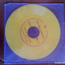 Discos de vinilo: DISCO EN COLOR DE LOS TRES CERDITOS PUBLICACION INFANTIL SONORA . Lote 148236302