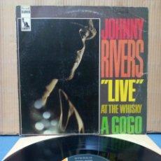 Discos de vinilo: JOHNNY RIVERS - LIVE AT THE WHISKY A GO-GO 1967 GER. Lote 148240040