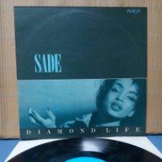 Discos de vinilo: SADE - DIAMOND LIFE 1984 GER ( RDA ) ED AMIGA. Lote 148241052