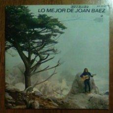 Discos de vinilo: JOAN BAEZ - LO MEJOR DE..., HISPAVOX, 1965. SPAIN.. Lote 148246434