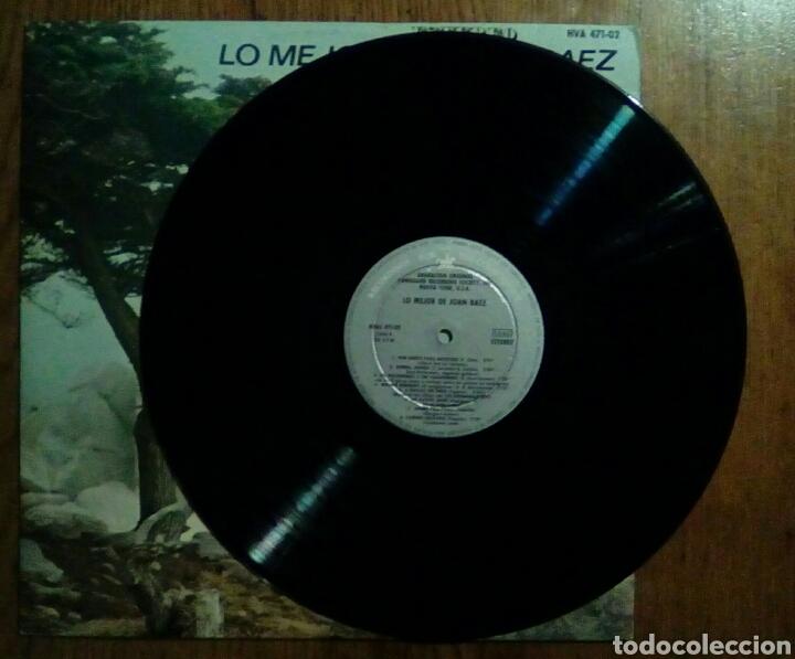 Discos de vinilo: Joan Baez - Lo mejor de..., Hispavox, 1965. Spain. - Foto 3 - 148246434