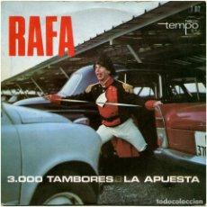 Discos de vinilo: RAFA (ESCALA EN HI-FI) - 3.000 TAMBORES - SG SPAIN 1966 - DISCOS TEMPO T012- GREG SEGURA. Lote 148247282