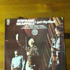 Discos de vinilo: STEPHANE GRAPPELLI I GOT RHYTHM ! (DOBLE LP). Lote 148247645