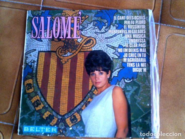 LP DE SALOME CONTIENE 12 TEMAS (Música - Discos - LP Vinilo - Cantautores Españoles)