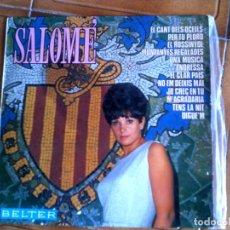 Disques de vinyle: LP DE SALOME CONTIENE 12 TEMAS. Lote 148260098