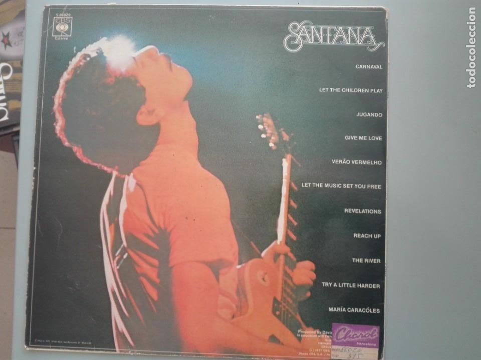 Discos de vinilo: SANTANA FESTIVAL 1977 CBS # - Foto 2 - 253569875